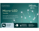 GUIRLANDE MICRO 240L ARGENT BLANC FROID