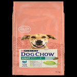 DOG CHOW LIGHT DINDE 14KG