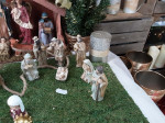 SET CRECHE POLY A/7 FIGURINES OR 12CM