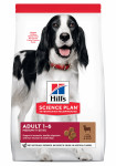 CANINE ADULT MEDIUM AGNEAU&RIZ HILL'S