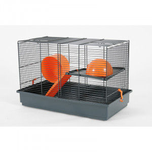 Cage INDOOR 50 cm gerbille orange