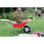 Brouette plume polypro 100 L framboise